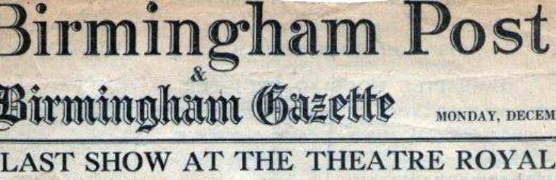 Birmingham Post & Birmingham Gazette